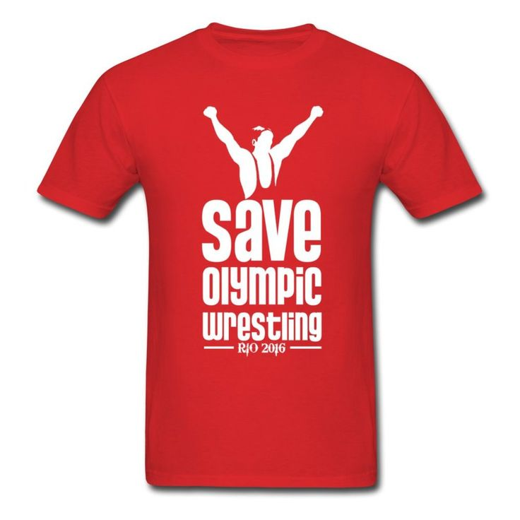 Super Running Save Olympic Wrestling Rio Hot selling Men's T Shirt Free Shipping US by Dotigearshop on Etsy