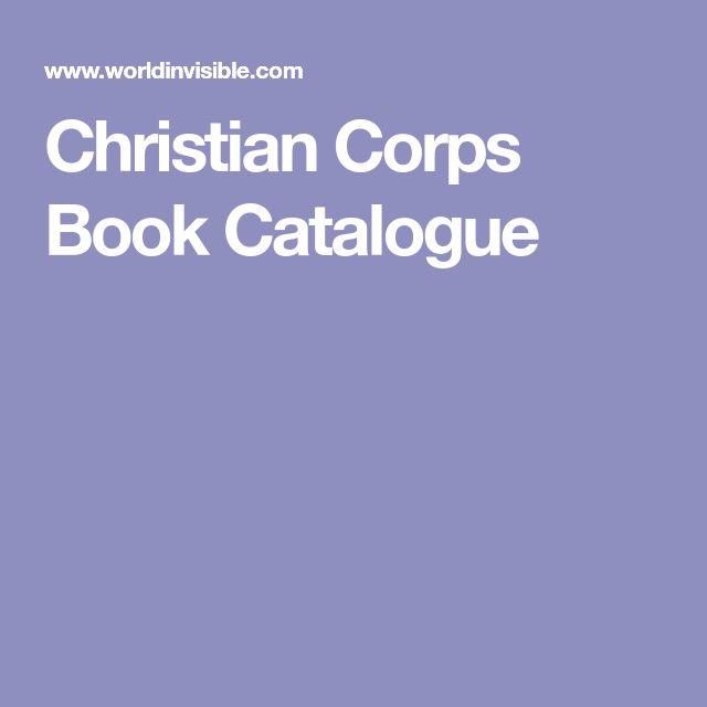 Christian Corps Book Catalogue