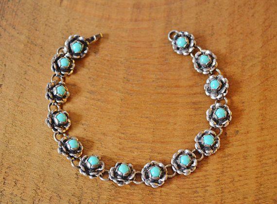 Vintage / Antique Sterling Silver Bracelet by Collectitorium