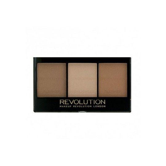 Makeup Revolution Ultra Contour Kit Zestaw do Konturowania Medium
