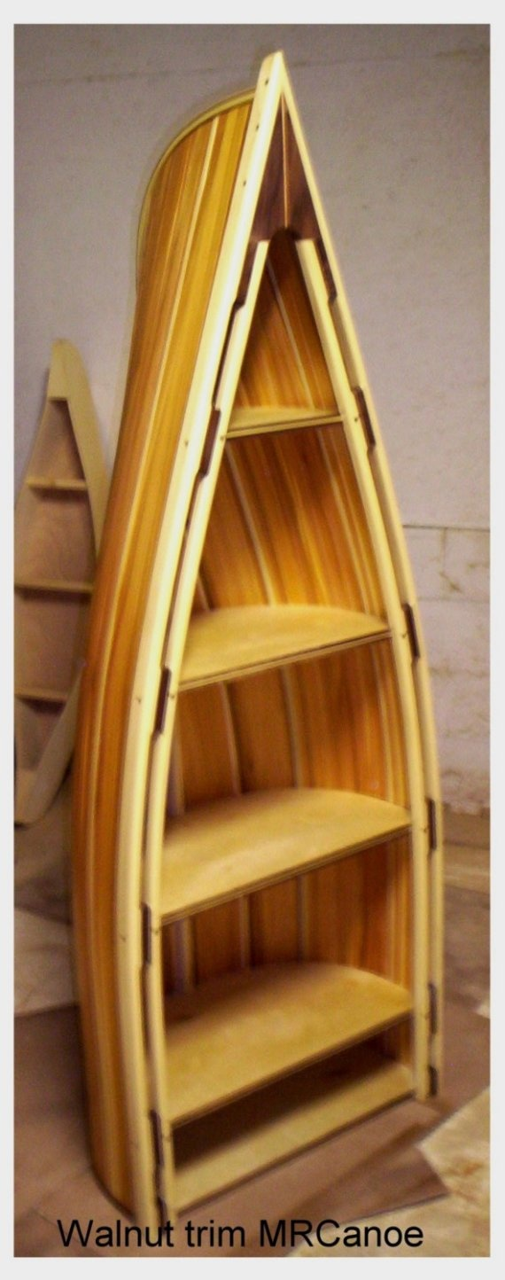 Canoe Bookcase For Sale Woodworking Projects Amp Plans