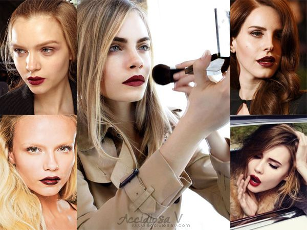 Fall 2012 Makeup Trend: Mulberry Lips