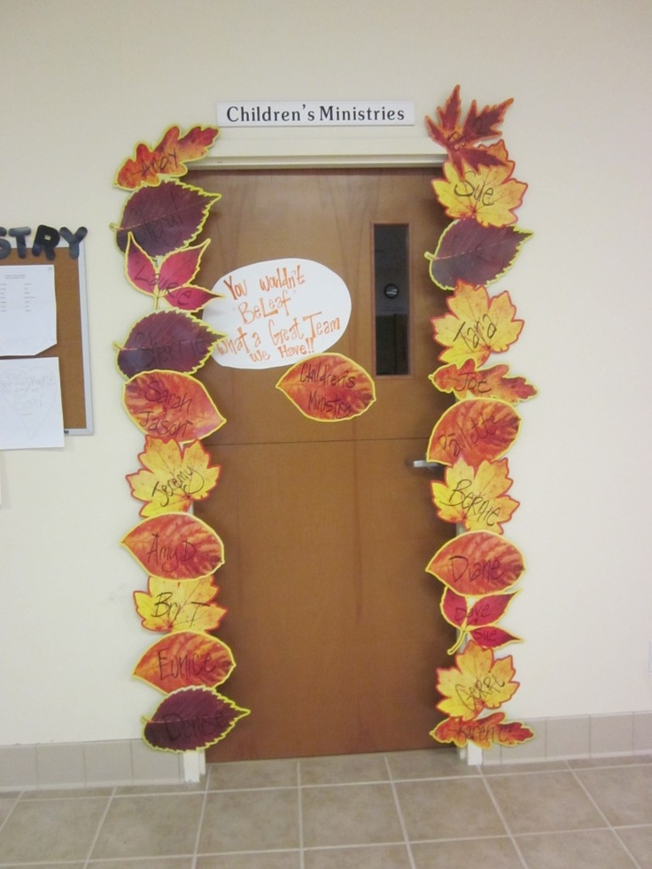 Children's Ministry Fall Volunteer Appreciation - you wouldn't beleaf what a…