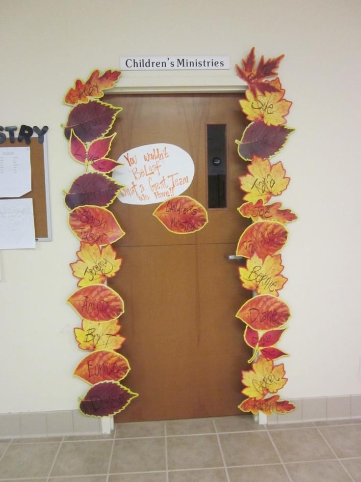 Children's Ministry Fall Volunteer Appreciation