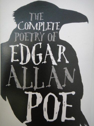 The Complete Poetry of Edgar Allen Poe. Full review linked here: http://imranlorgat.com/2014/11/07/the-complete-poetry-of-edgar-allen-poe-book-thoughts/