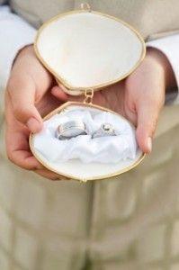 Подушечки для колец на свадьбу