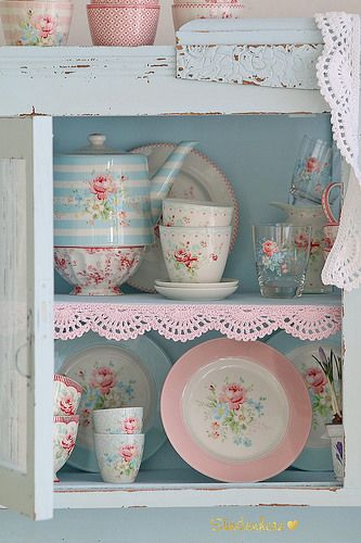 Greengate In 2019 Geschirr Shabby Chic Furniture Shabby Chic