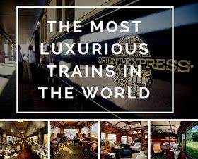 It is not easy to get an opportunity to travel in one of these trains. The prices for tickets in comparison with ordinary trains are very high. But when you realize that this is your chance to make an amazing trip, that you may never have in your life, everything makes sense.Venice Simplon-Orient-Express. Eastern and Oriental Express. Blue train . Golden Chariot. Rovos-Pride of Africa. Belmond Royal Scotsman. Maharajas Express. Imperial Russia. Golden Eagle. Ghan teain. Luxury trains.