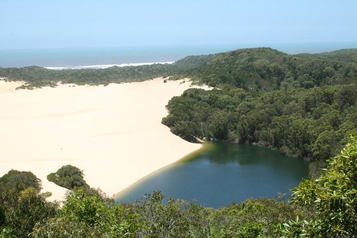 Lake Wabby (Fraser Island), Queensland