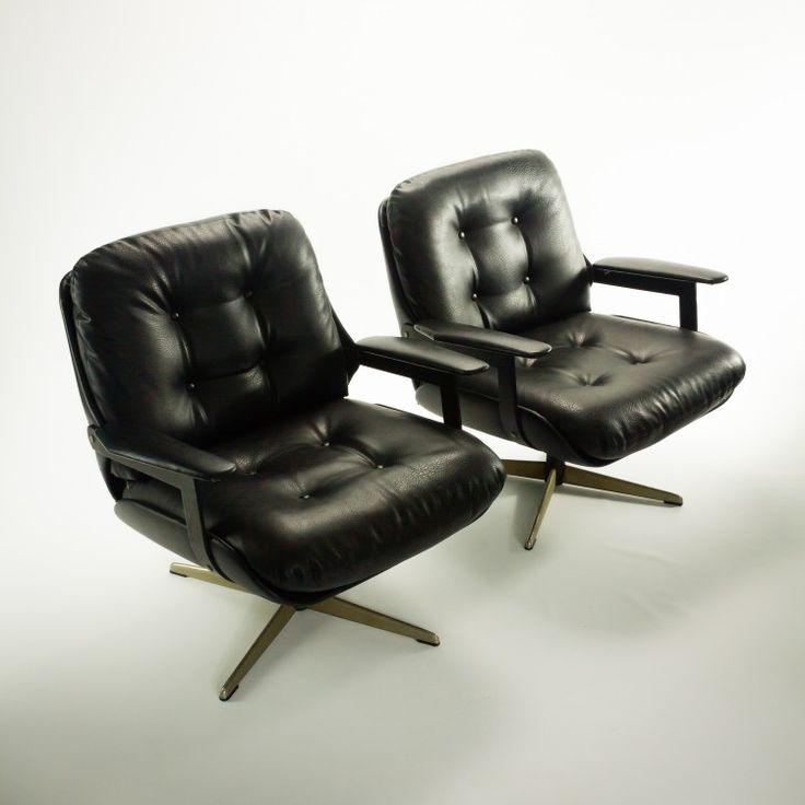 _MG_9052 57250720S 70's Eames stijl skai draai fauteuil set-2 Design Vintage Retro Barbmama