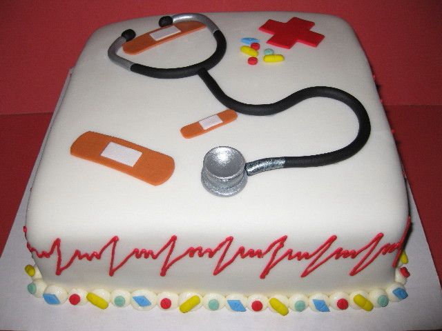 Cake Decorations For Nurses : Nurse themed Cake Snacks Pinterest Nurses, Themed ...