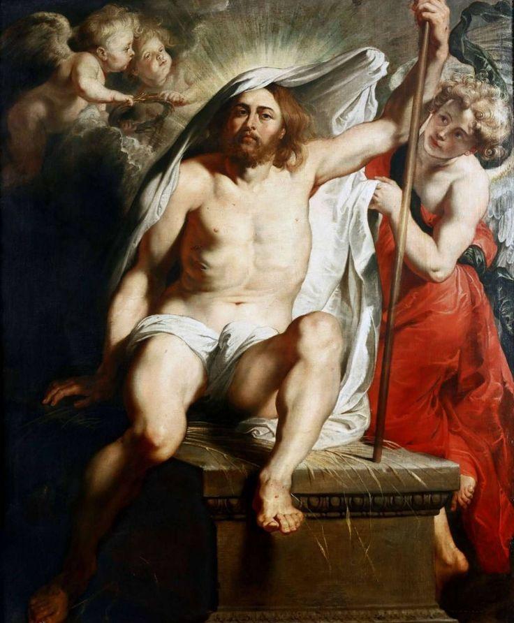 Питер Пауль Рубенс. Воскресение Христа. 1616 г.