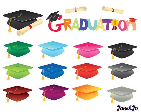 GRADUATION~Clipart Sale off Graduation clip artGraduation by JaneJoArt