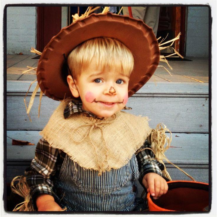 Toddler DIY Scarecrow Costume