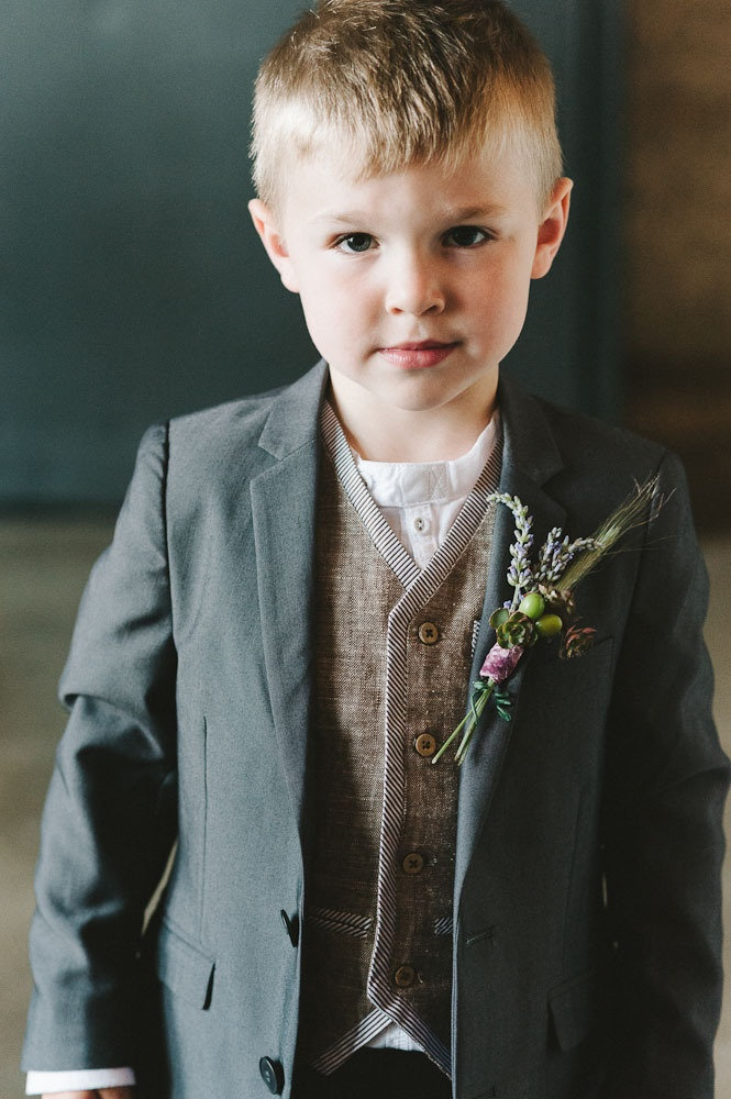 love the colors in this ring bearer outfit!!!   Maybe a lighting jacket or none at all.