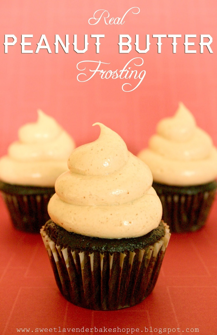 real peanut butter frosting | Recipes! | Pinterest