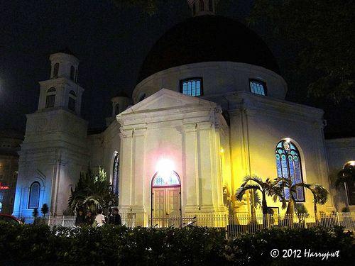 lighted old church - Semarang