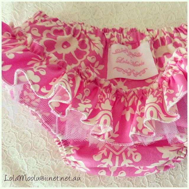 Such a lucky lady! I get to create these yummy ruffly bloomers today! Hope you get to enjoy your day too! 💗💖💝💗💖💝 #Monday #ruffles #pink #kidsclothing #baby #newborn #bloomers #love #madeinaustralia #madewithlove #handmade #australianbusiness #summer