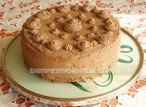 Bezglutenowy tort z musem czekoladowym
