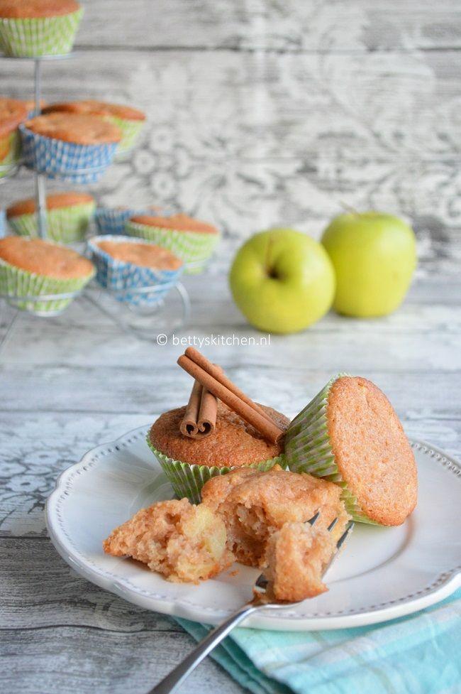 Appel muffins - met Golden Delicious - OER-fruit
