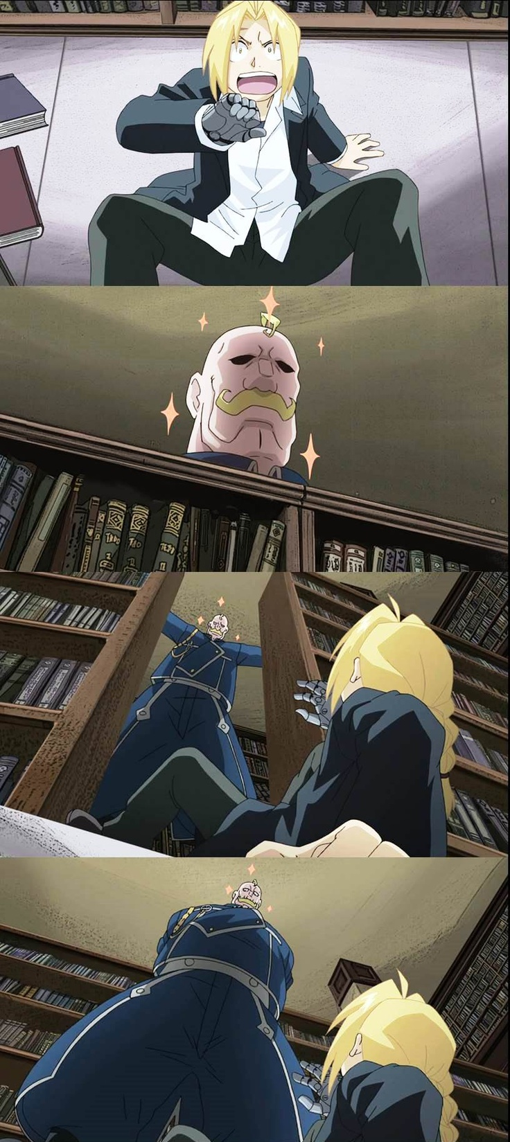 "Fullmetal Alchemist - ""EDWARD ELRIC, I HAVE FOUND YOU!"" Major Armstrong (ep 32)"