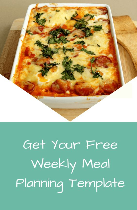 Get your free weekly meal planning template from The Growing Mum Pi