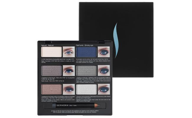 Sombra Pro Lesson Palette Blue Eyes por R$149 na Sephora