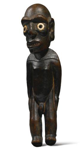 Rapa Nui Male Statuette (moai miro), Easter Island | Lot | Sotheby's