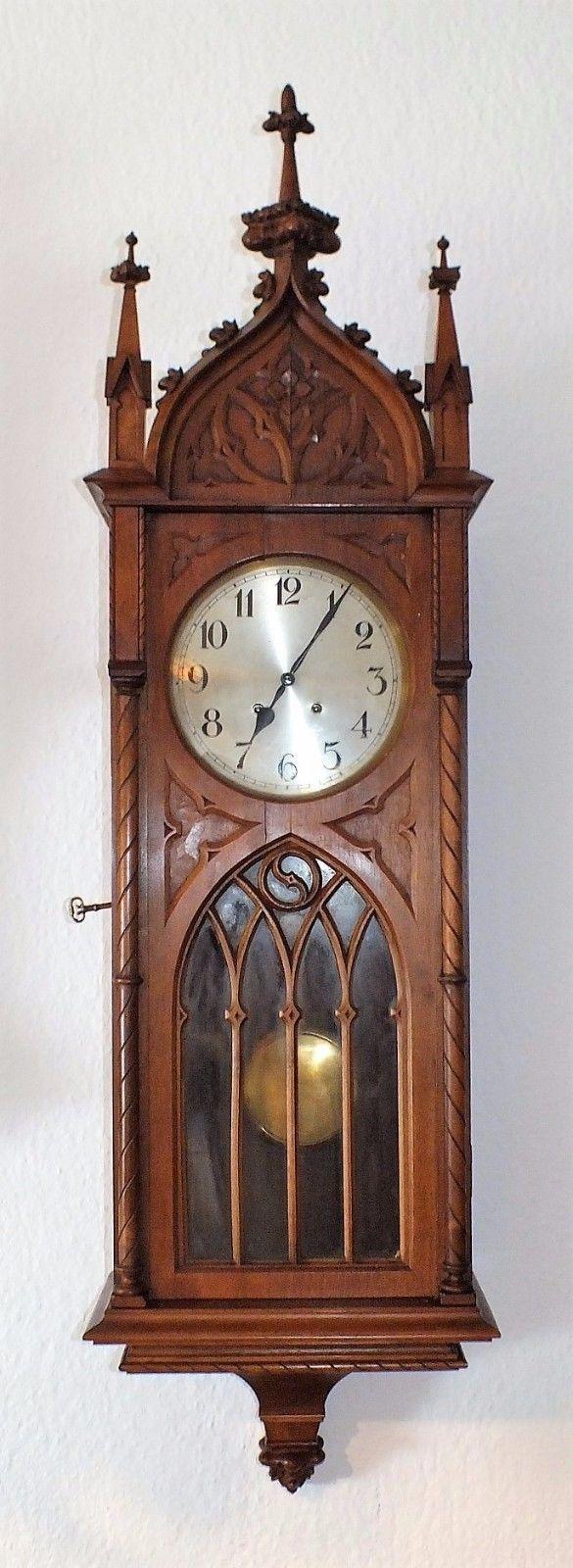 Vintage industrial clock double sided factory clock brilli 233 - 130cm H Lorenz Furtw Ngler Lfs Kathedral Regulator Petit Sonnerie Viertelschlag Ebay Viennaclocksantique