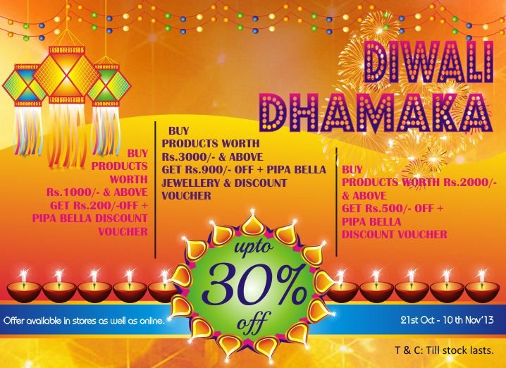 Diwali Dhamaka at The NAture's Co. stores more brighter this year!! Get free jewelry from @Ana G. Laura Fleitas+Bella…hurry…offer till stocks lasts…