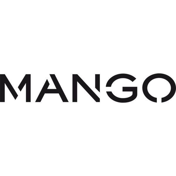 Mango logo ❤ liked on Polyvore