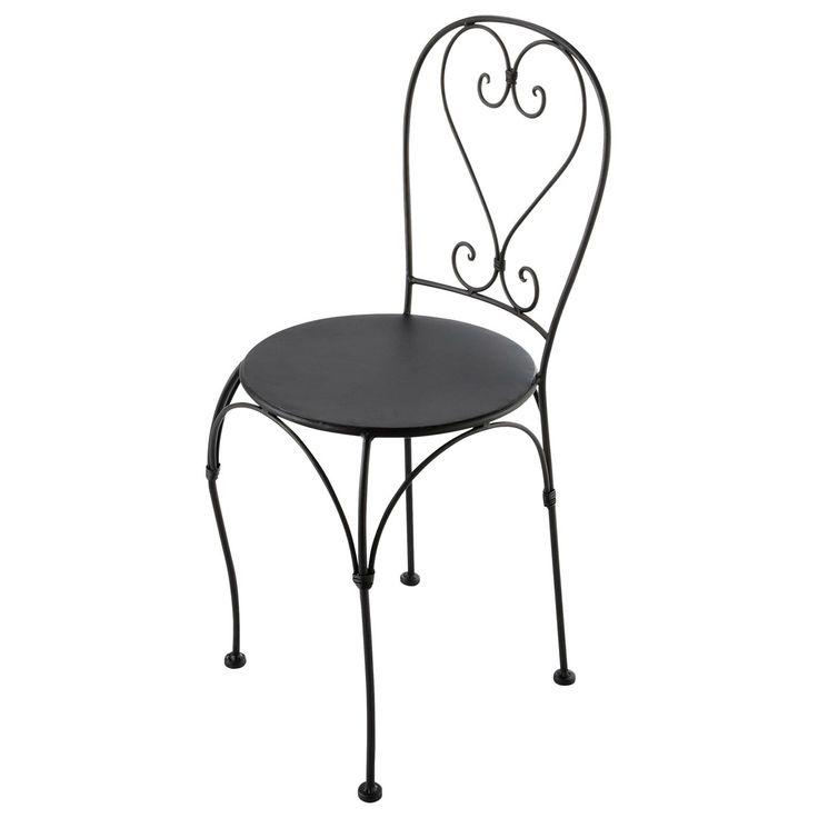 Les 25 meilleures id es de la cat gorie chaises en fer forg sur pinterest - Chaise de jardin fer forge ...