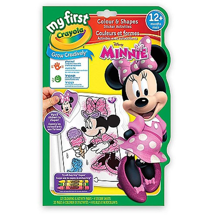 Crayola My First Colours and Shapes - Minnie Mouse | Mouse ...