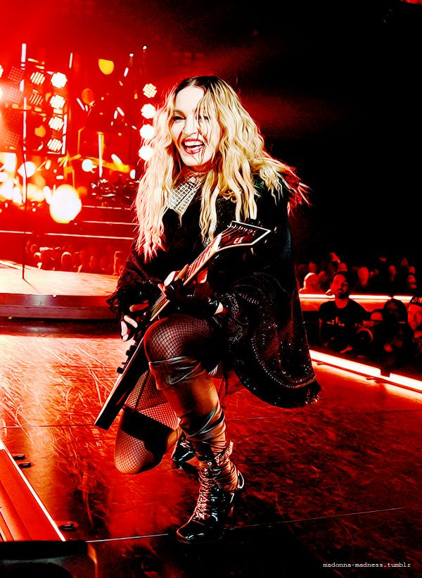 Madonna performing her Rebel Heart tour in Philadelphia, NY on 9/24/15