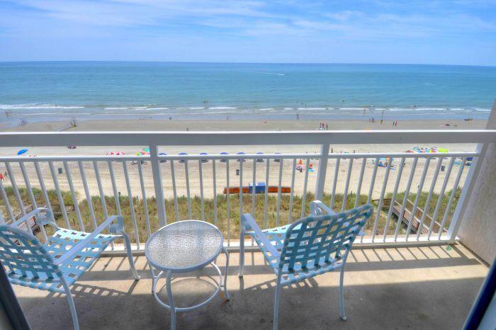 Rent Crescent Shores N. -  602 in North Myrtle Beach, an Ocean Front Condo vacation rental through CondoLux.