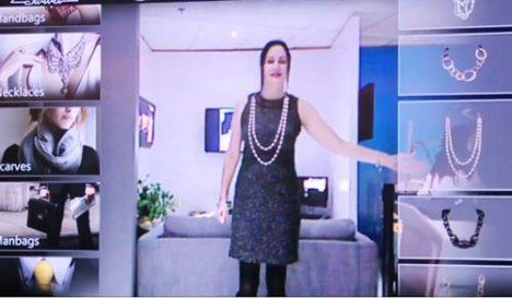 A must for women, Virtual Dressing Room Takes Pain out of Clothes Shopping