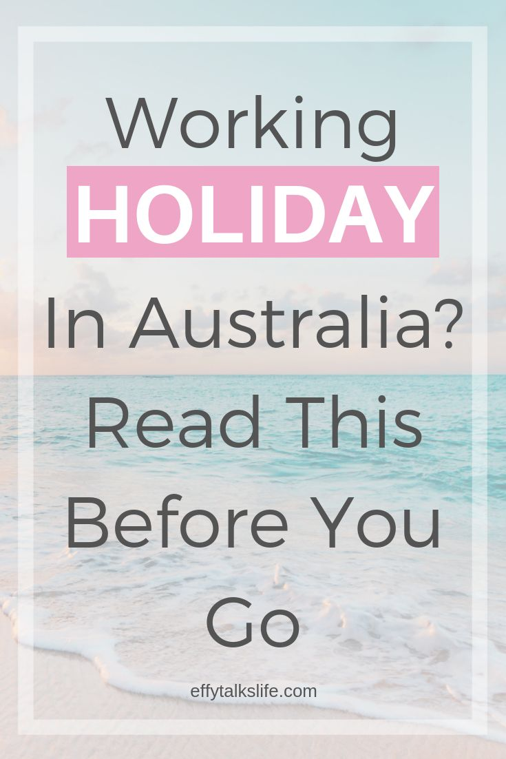 Australian Working Holiday Visa – What You NEED To Know!