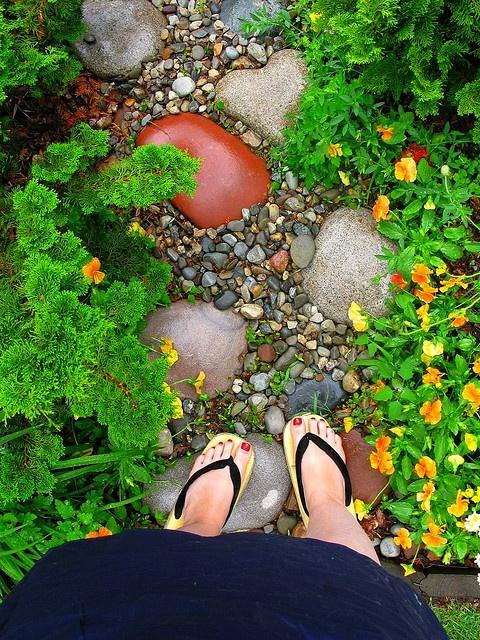 (Angie's) magic garden path...