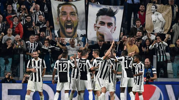 UEFA Champion's League Group D football match Juventus vs Olympiacos