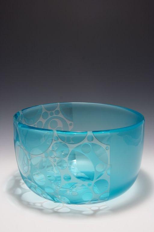 Salatino-Gandolfo Glass | Hand blown Carved Glass Vessels