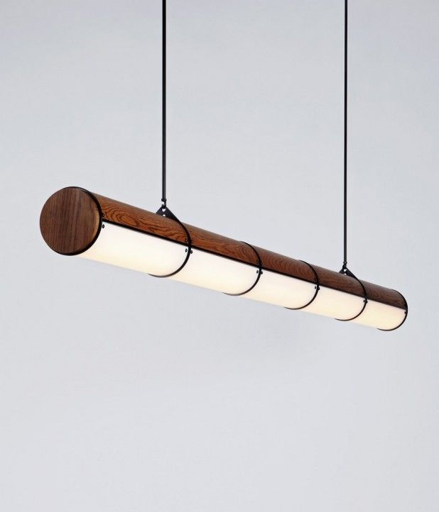 woody endless light by roll & hill | #saltstudionyc