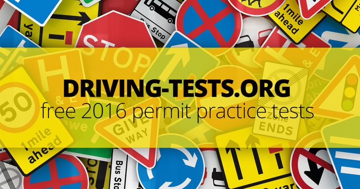 Practice your state's DMV permit test for free - no registration required! Click here to take your  2016 driving permit practice test right now!