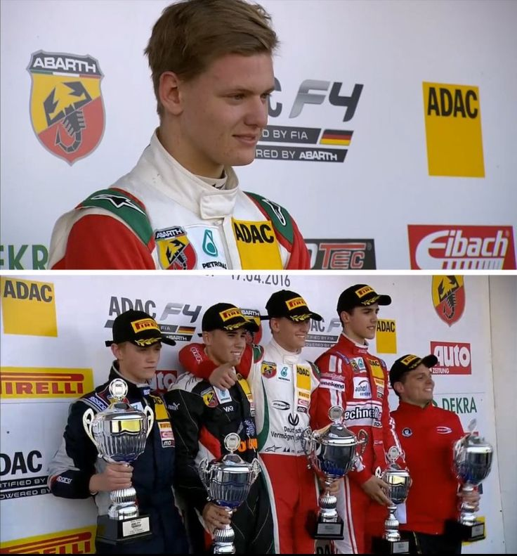 German F4 round 1 race 3. Well done Mick