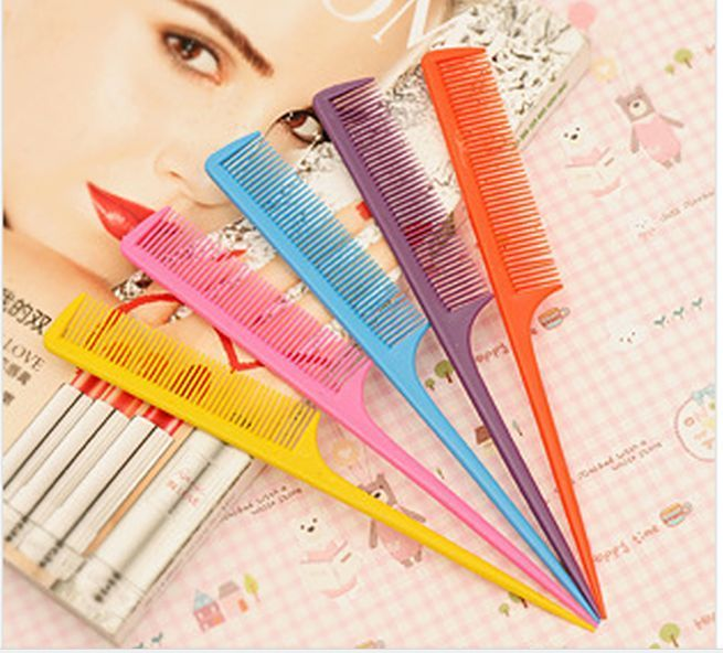 5Pcs Fashion Rat-Tail Comb Comb Partition Hairdressing Tools