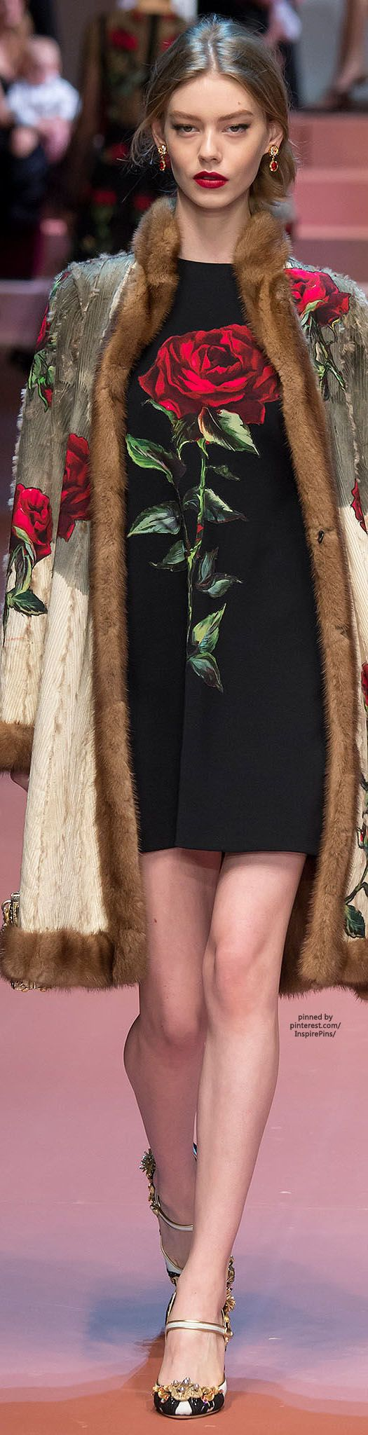 Dolce & Gabbana FW2015   Purely Inspiration
