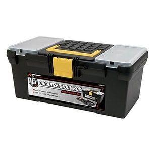 performance tool w54034 2piece plastic tool box combo 2pc plastic tool box combo