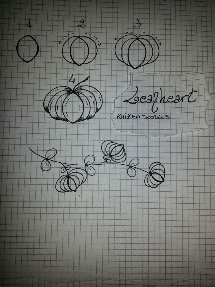 Kai-Zen Doodles: My 15th Tangle: Leafheart & Found Poetry by  Simona Cordara
