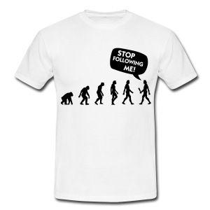 Sandbeige Stalker Evolution (1c) T-skjorter - T-skjorte for menn