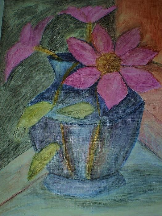 Drawing - Colored Pencil On Paper
