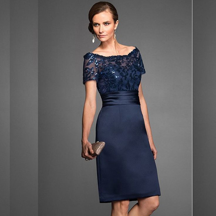 Grace-Mother-Of-The-Bride-Dress-Navy-Sheath-Scoop-Sheer-Beading-Embroidery-Hollow-Back-Zipper-Dresses (2)